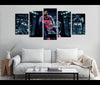 5 Piece Canvas Art John Wall Basketball Canvas Wall Art Decor