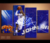 4 Piece Canvas Art John Wall Basketball Canvas Wall Art Deocr