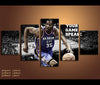 5 Piece Canvas Art Kevin Durant Basketball Canvas Wall Art Decor