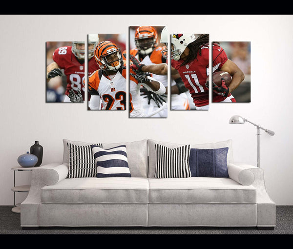 5 Piece Canvas Art Wall Art Canvas Football Arizona Cardinals
