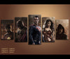 5 Piece Canvas Art Justice League Movie Canvas Wall Art Decor