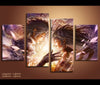 4 Pieces Final Fantasy Canvas Art Game Painting Wall Art Print