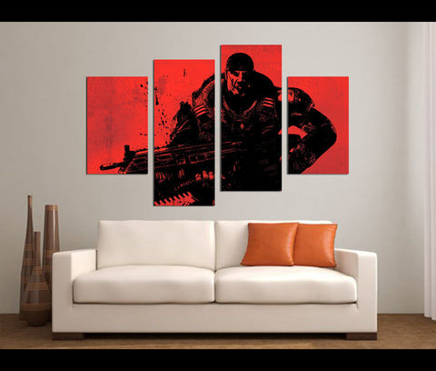 Game Canvas Art
