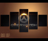 5 Piece Canvas Art Overwatch Game Painting Canvas Wall Art Print