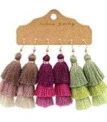 Cruz Tassel Earrings