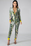 Snake Jumpsuit - Miss Hollywood's