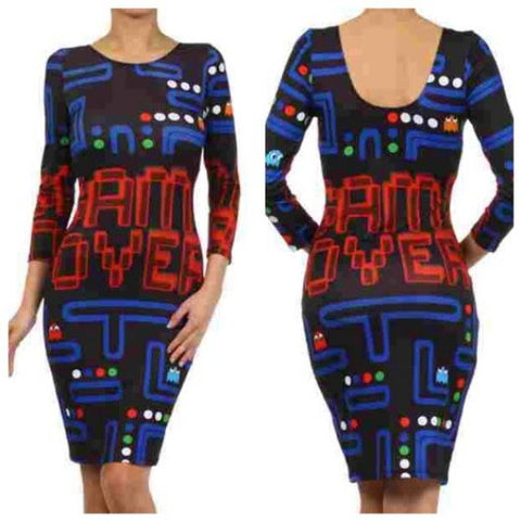 Game Over Dress - Miss Hollywood's