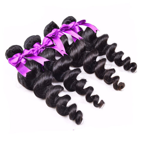 Loose Wave Brazilian *4 Bundles - Miss Hollywood's