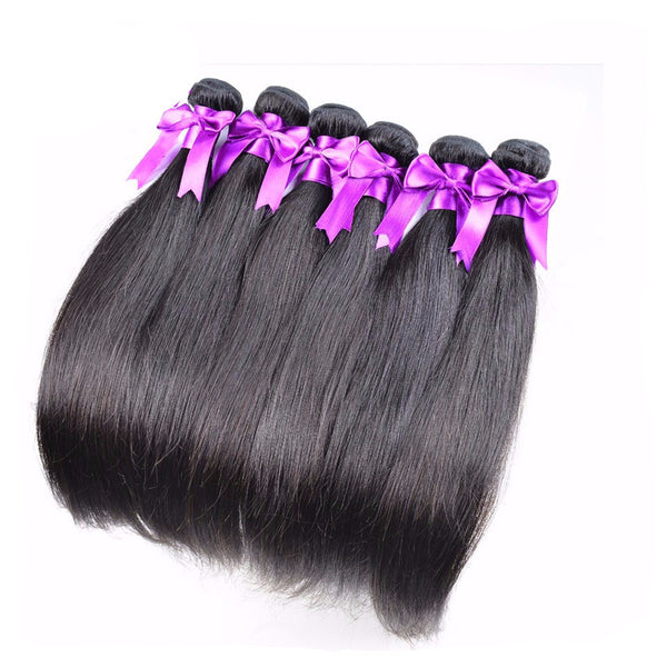 Raw 10A Brazilian Straight *3 Bundles - Miss Hollywood's