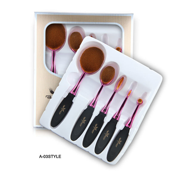 Multipurpose Make Up Brush Set - Miss Hollywood's