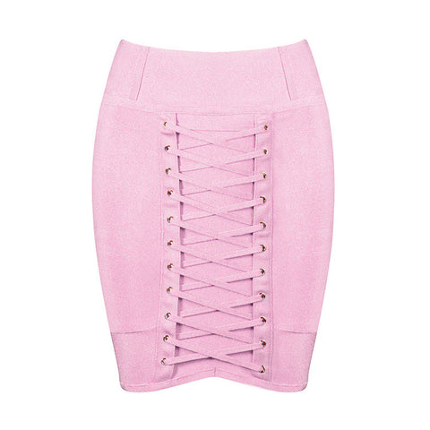 Ayla Mini Skirt - Miss Hollywood's
