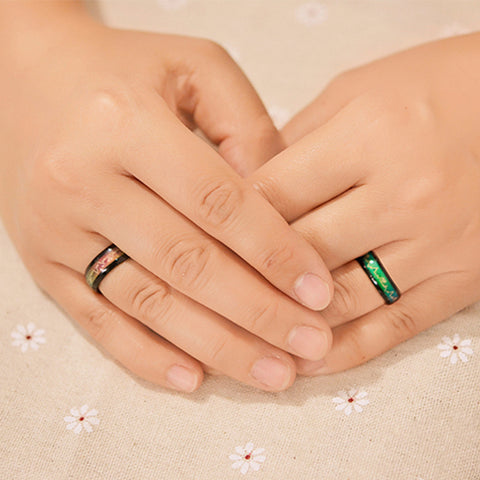 Temperature Mood Rings For Couples - Miss Hollywood's