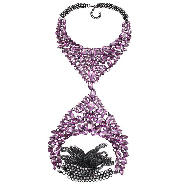 Azurra Necklace - Miss Hollywood's