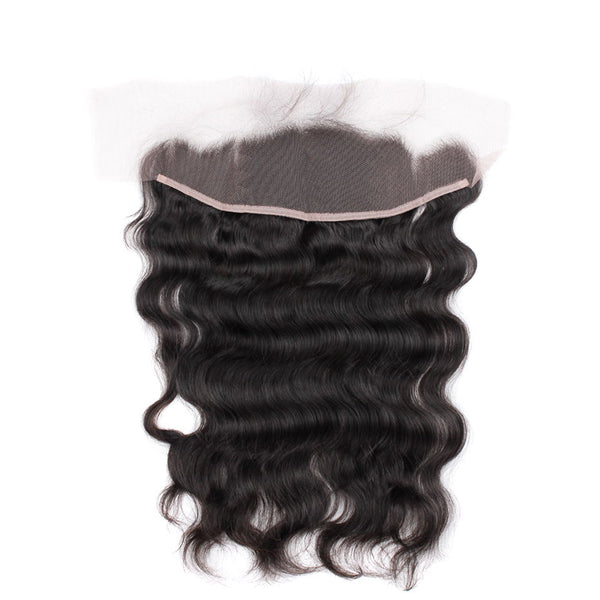 Pre Plucked Brazilian Body Wave Lace Frontal - Miss Hollywood's