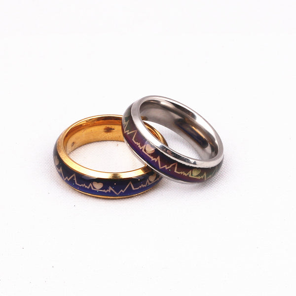 Temperature Mood Rings For Couples