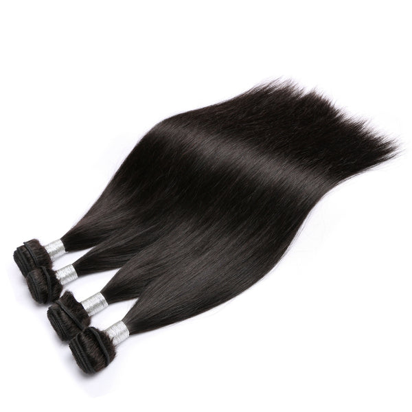 Silky Straight Brazilian Hair - Miss Hollywood's