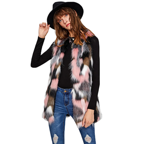 Osceola Fur Vest - Miss Hollywood's