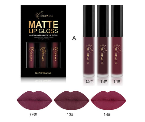 Matte Lip gloss Set - Miss Hollywood's