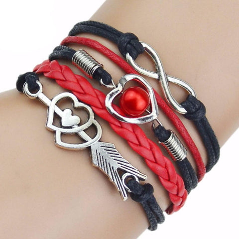 Infinity Bracelet (9 Colors) - Miss Hollywood's