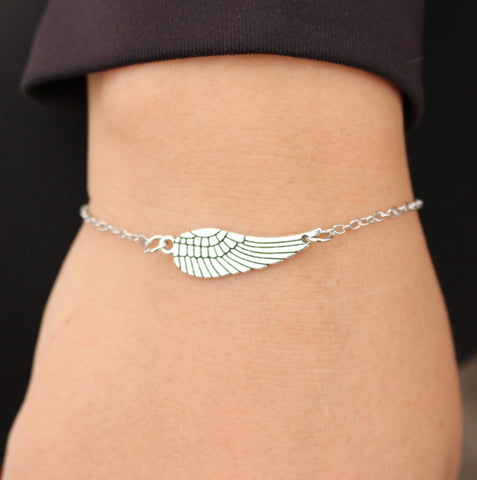 Angel Wing Bracelet - Miss Hollywood's