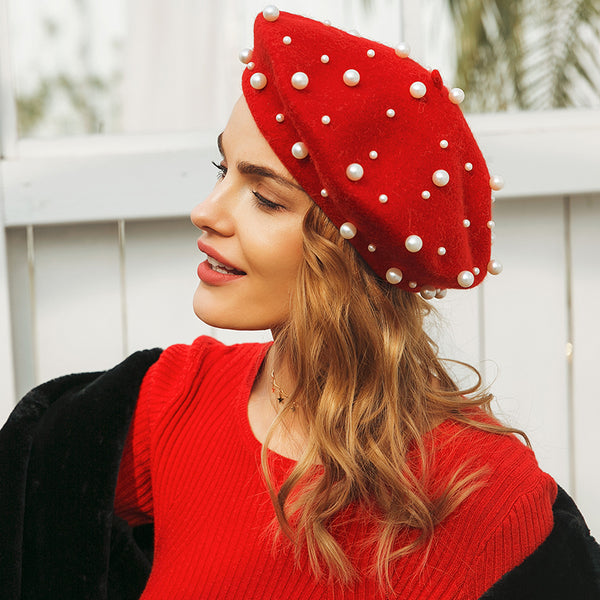 Parthena Pearl Hat - Miss Hollywood's