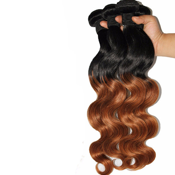 Ombre Brazilian Hair *4 Bundle Deal - Miss Hollywood's