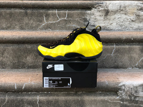 Air Foamposite One Wu-Tang Optic Yellow