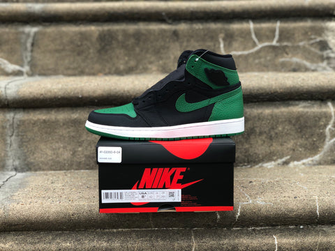 Jordan 1 Retro High OG Pine Green Black