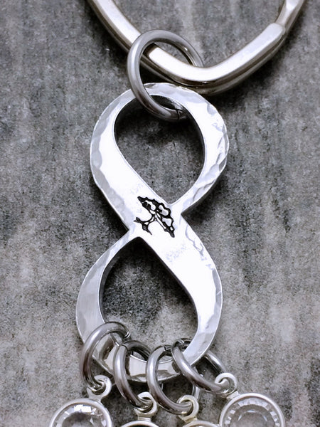 Family tree infinity Grandma/Mother Keychain