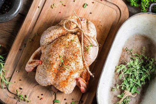Herb Fed Free Range Capon Rooster