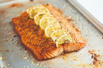 Ready to Cook Fillet of Salmon in Lemon and Dill (Skipton only)