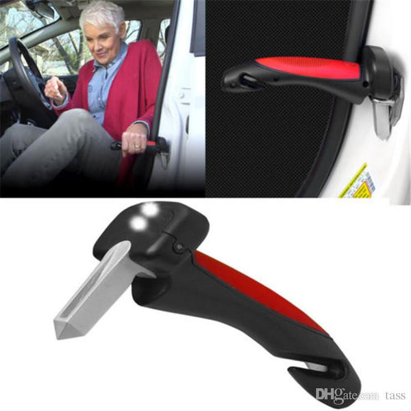 Safety-First Car Handle