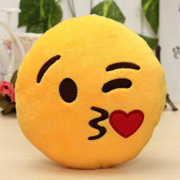 Love Emoji Cushion Pillow