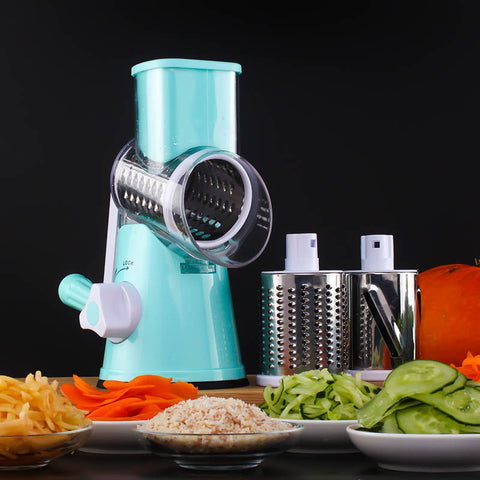 Rotating Mandoline Slicer & Cutter