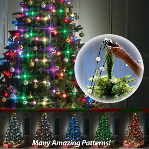 48 Bulbs Christmas Tree Decoration
