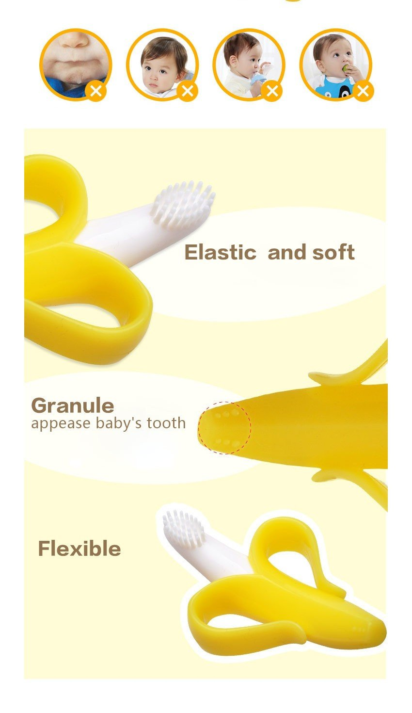 Baby Teether Banana