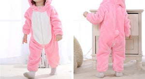 Pink Rabbit romper
