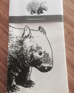 Stalley And Co Wombat Tea Towel