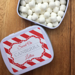 Sweet On Canberra Lollies - FREE Shipping