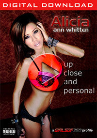 VOD: Alicia Ann Whitten - Up Close & Personal (Digital Download)
