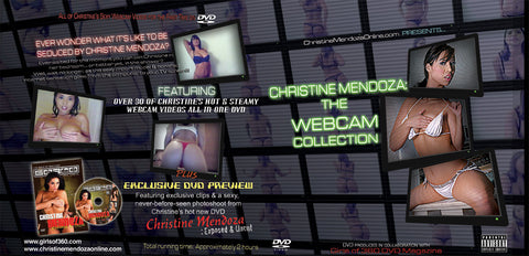 Christine Mendoza - The Webcam Collection DVD