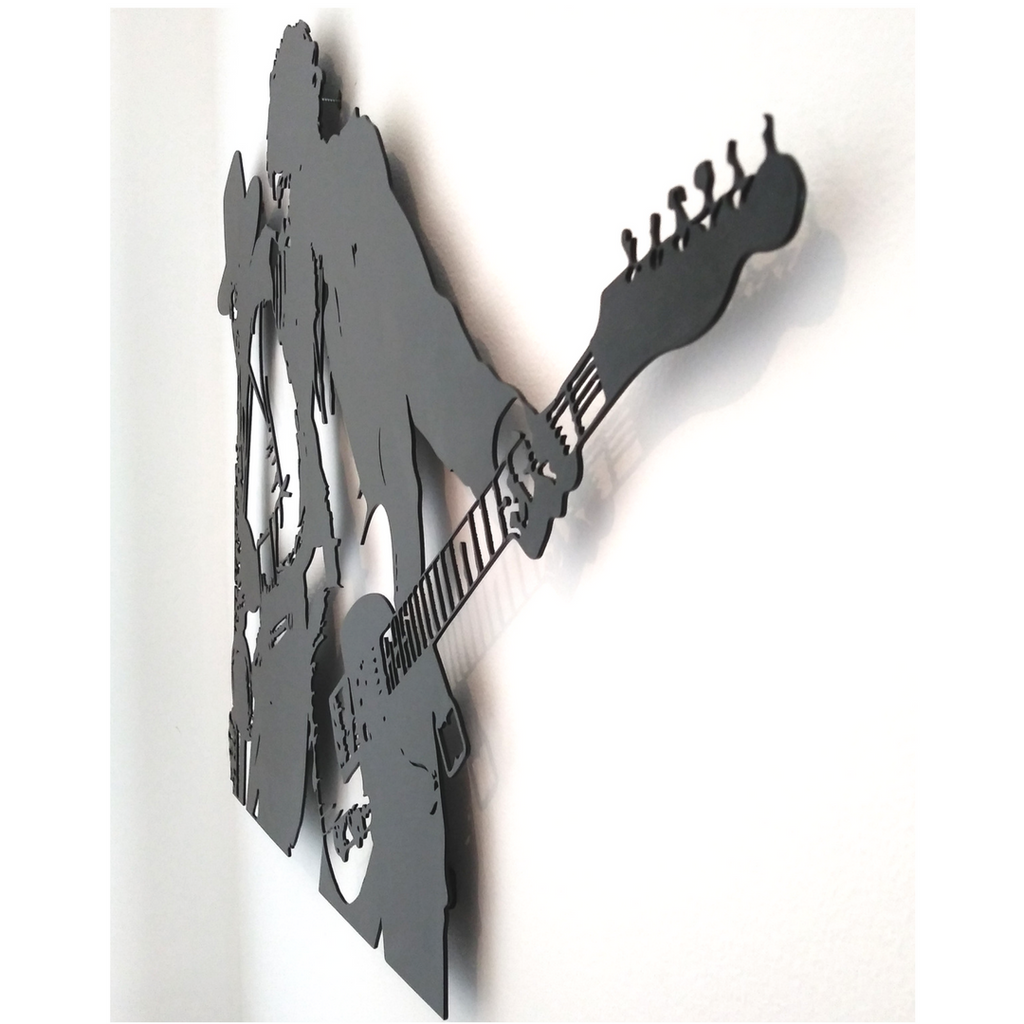 Bruce Springsteen metal wall art, born to run art, bloomi, בלומי