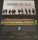 "Port Adelaide F.C Signed ""Honouring Our Fallen 2015 Anzac Day"" Tribute Memorabilia"