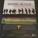 "Hawthorn F.C ""Signed Honouring Our Fallen Anzac Day"" Tribute Memorabilia"
