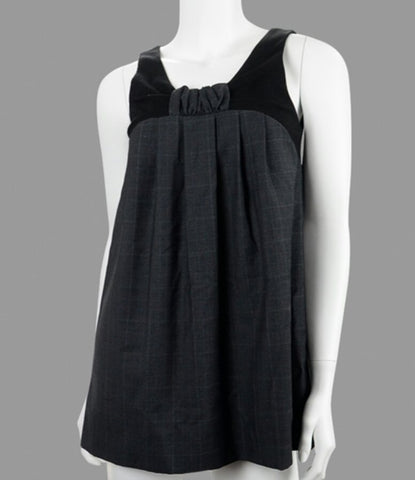 How I Met Your Mother Cobie Smulders Screen Worn Black Sleeveless Shirt with Smulders Signed Letter of Authenticity