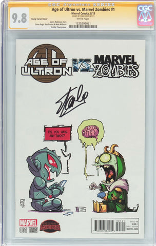 Age of ultron  vs zombies #1 signature series