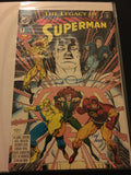 "- 1993 ""The Legacy Of Superman"" Issue #1 DC Comic signed Walter Simonson. LE"