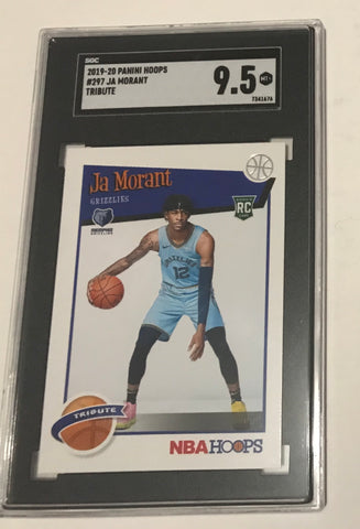 Ja Morant hoops rookie card