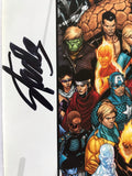 Stan Lee signed Civil War Chronicles