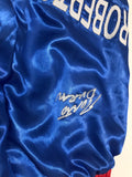 Robert Duran signed boxing trunks